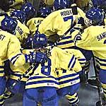 Eishockey nationalmannschaft im fußball länderspiel nur knapp